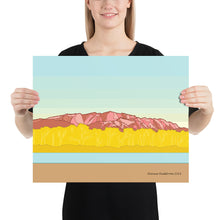 Load image into Gallery viewer, Sandia Mountains Poster
