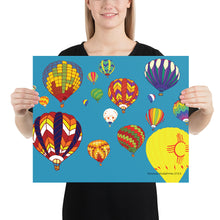 Load image into Gallery viewer, Hot Air Balloon Poster