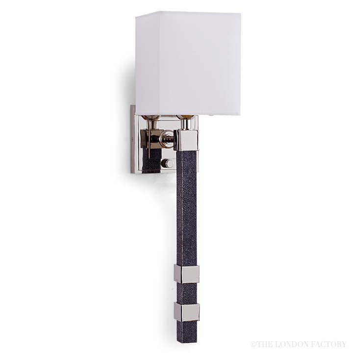 Bilbao Shagreen Wall Sconce