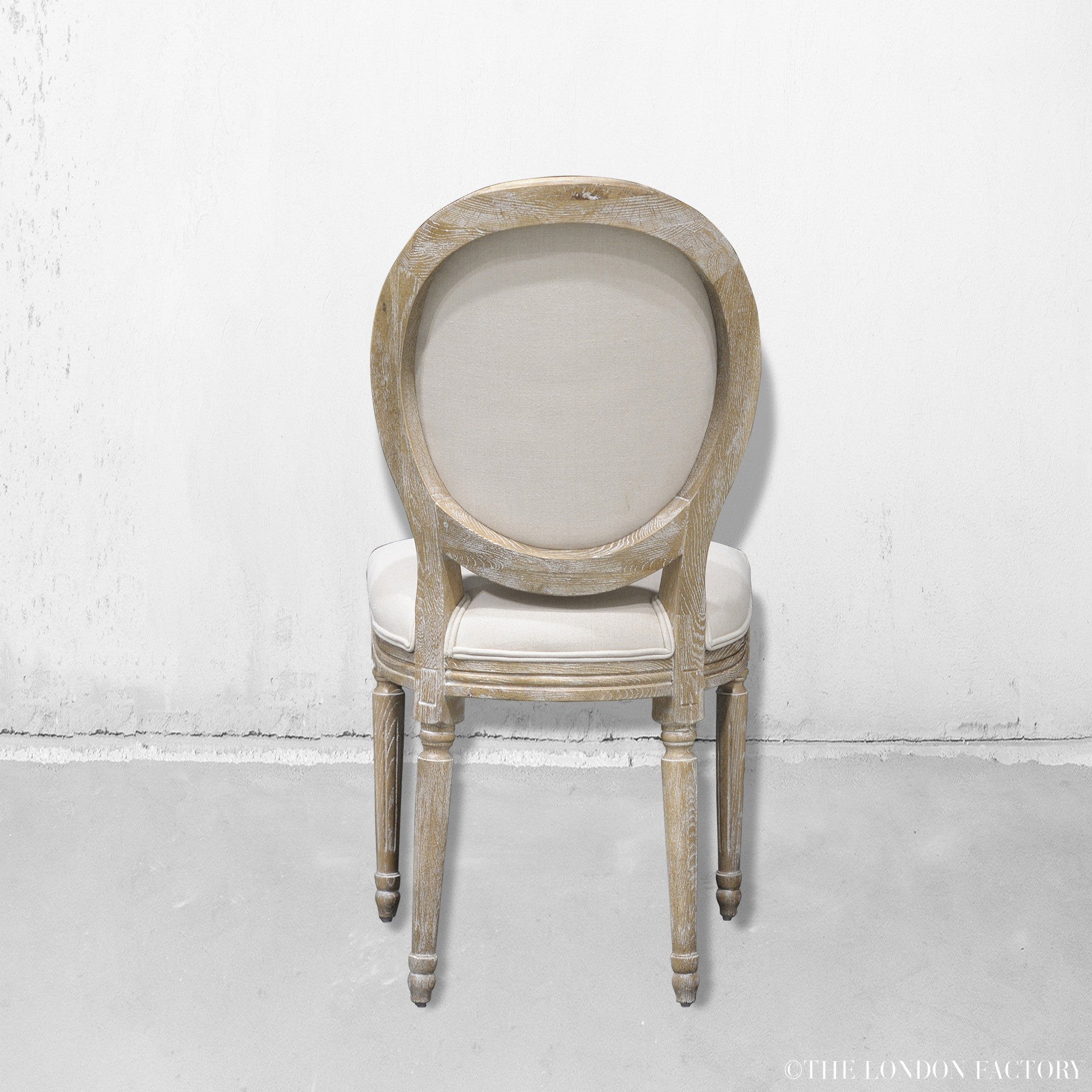 Earl French Country Upholstered Dining Chair The London