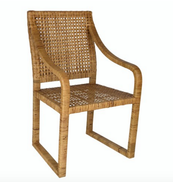 Lagoa Rattan Dining Chair - Set of 2