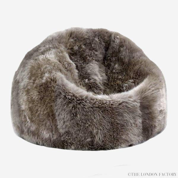 Luxe Shearling Bean Bag