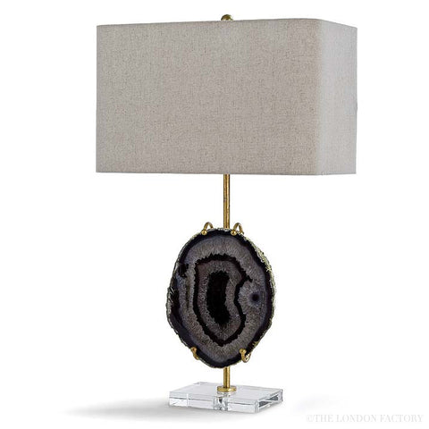 Santiago Gold Agate Table Lamp