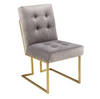 Paula Velvet Gold Dining Chair