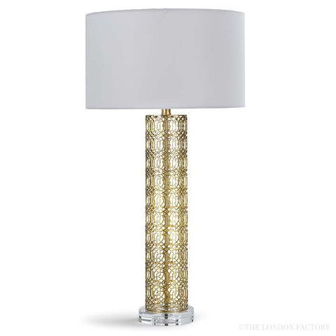 Seville Gold Leaf Table Lamp