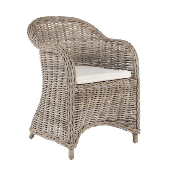 Valencia Wicker Dining Chair - Set of 2