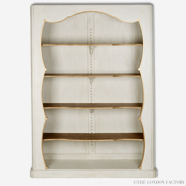 Alexandra Book Case | French Antique Reproduction Display Cabinet | The London Factory