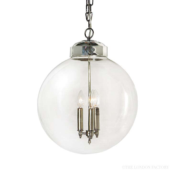 Alicante Large Globe Pendent Chandelier