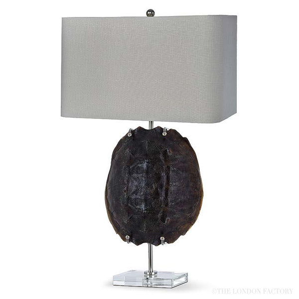 Corodoba Natural Turtle Shell Lamp