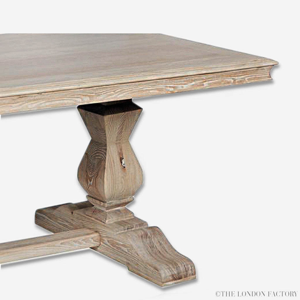 ... Hamlet | French Country Trestle FarmHouse Dining Table ...