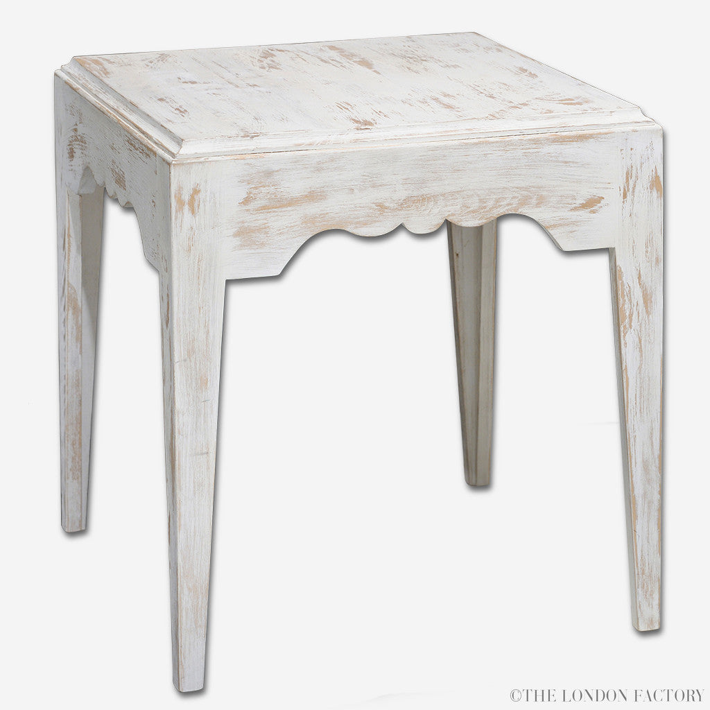 Parsons Side Table | Solid Wood Accent Table
