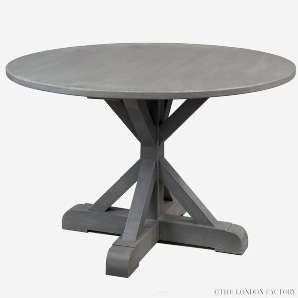 Swiss Cottage Round Dining Table