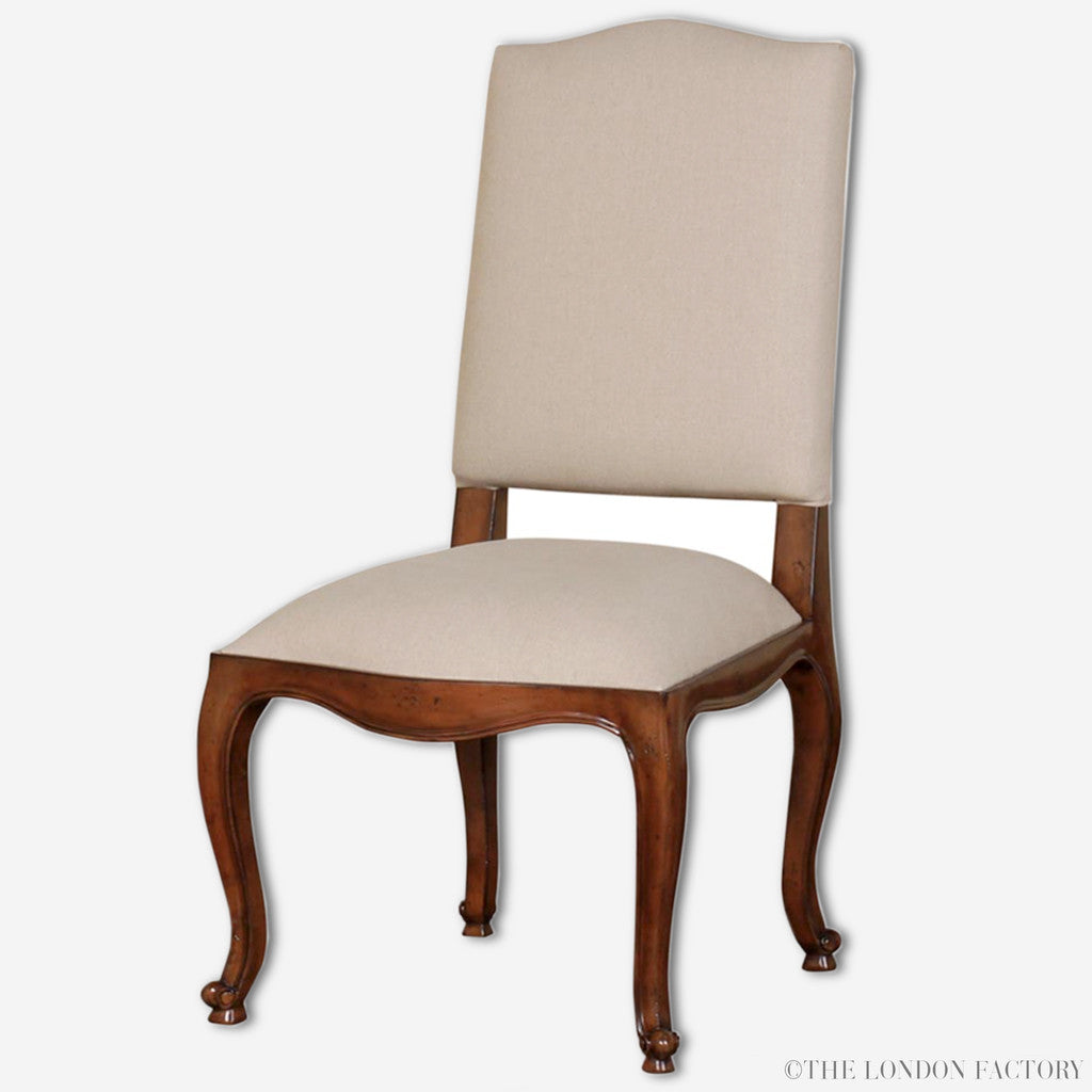 Upton French Upholstered Dining Chair