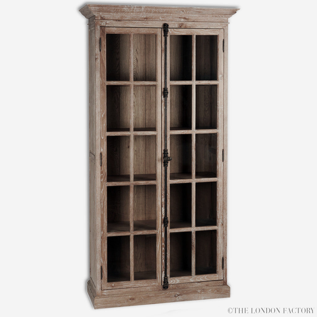 Windsor Salvaged Display China Cabinet