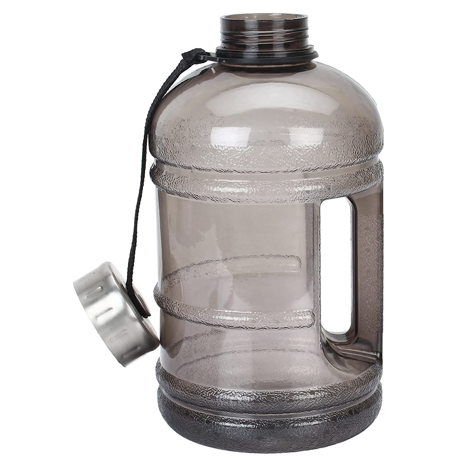 iShake 2.2 Litre Gallon Water Bottle, PETG Eco-Friendly Sports Fitness Exercise Water Jug for Gym, Yoga, Running, Outdoors, Cycling, and Camping.
