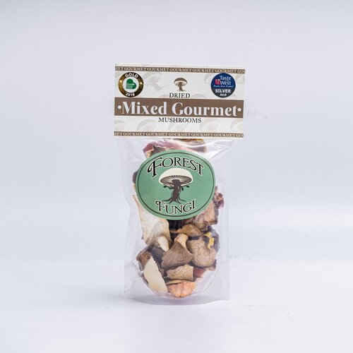 Organic Dried Gourmet Mushrooms