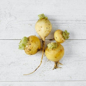 Organic Golden Turnips