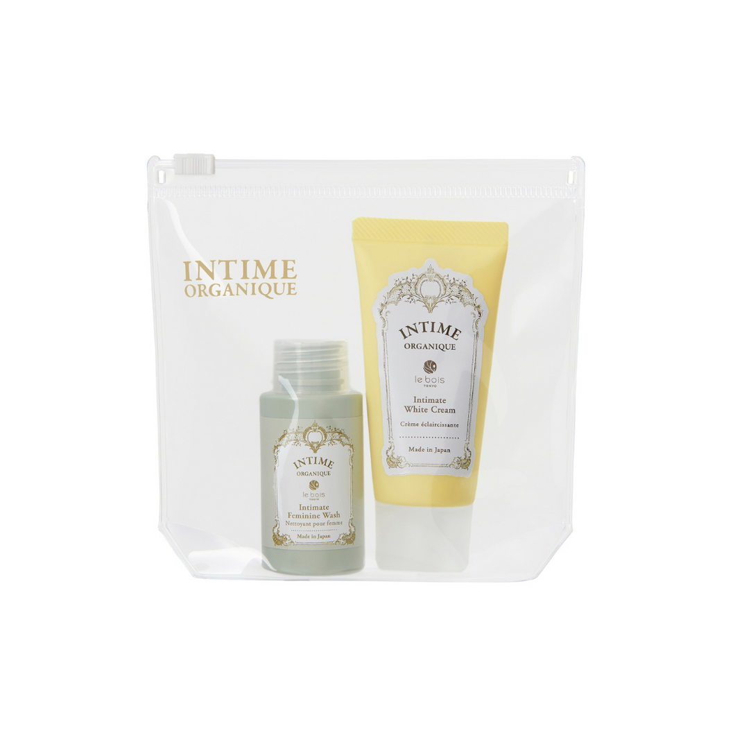 Intimate Care Trial Kit with Feminine Wash and White Cream