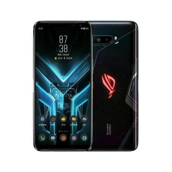 ASUS ROG Phone 3 Global Version ZS661KS 5G (Original) Black Ram 8GB Rom 128GB