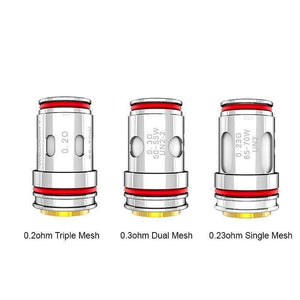 Uwell Crown 5 V Mesh Coil - E-Cigarette TH