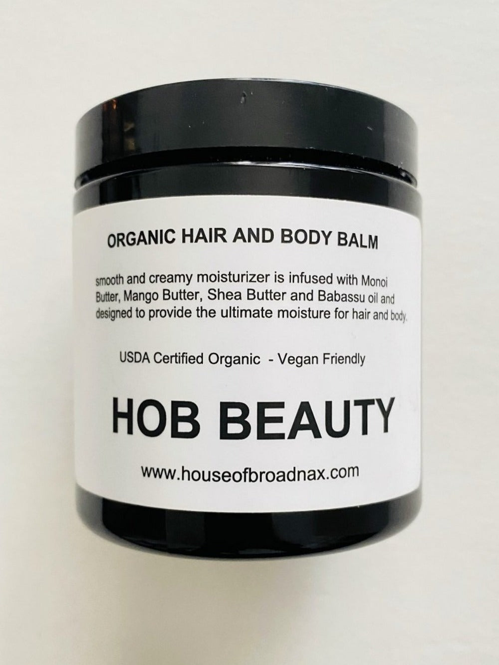 HOB BEAUTY ORGANIC HAIR & BODY BALM - HOB BRAND