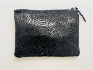 House of Broadnax - LEATHER POUCH - HOB BRAND