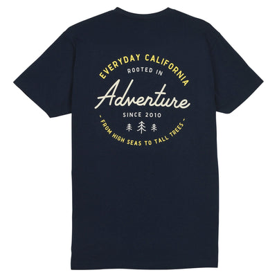 3 Trees Pocket Tee Midnight Navy