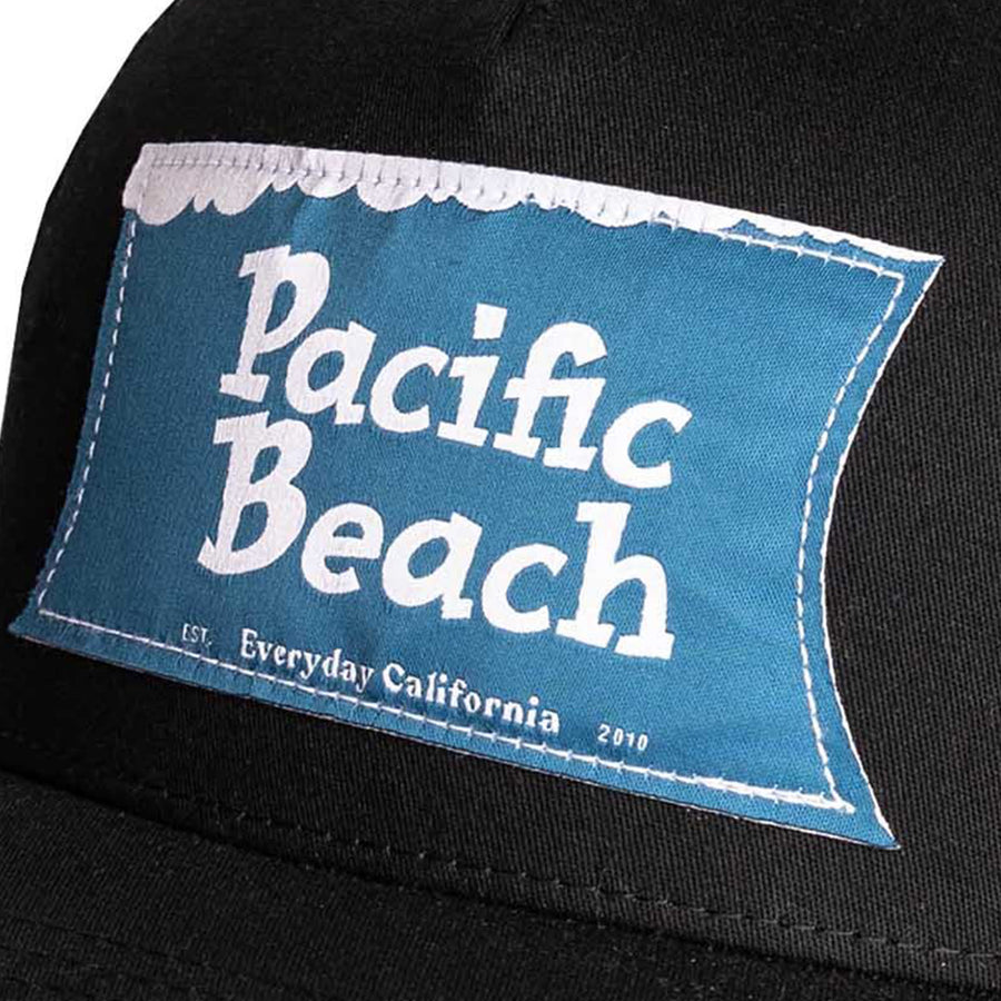 Pacific Beach Hat Black