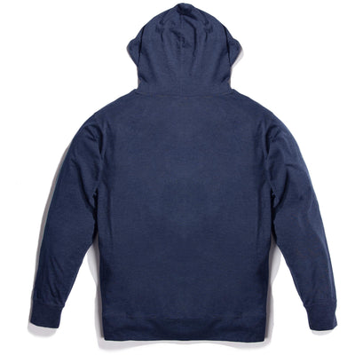 Raised by Waves Zip Hoodie Navy