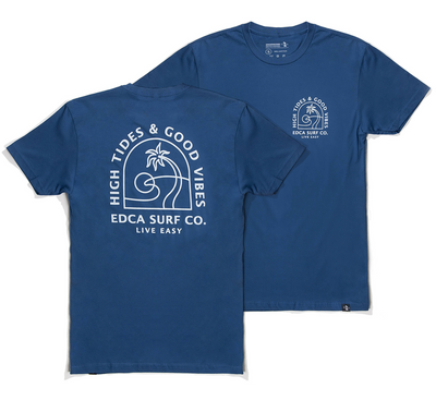 Sublime Mens Tee Blue