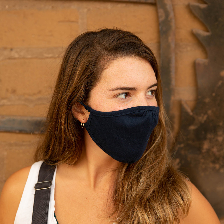 Eco Facemask Navy