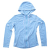 Womens SPF Zip Up Blue