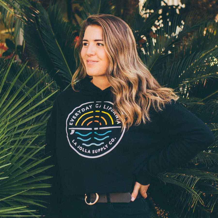 Cabrillo Cropped Hoodie