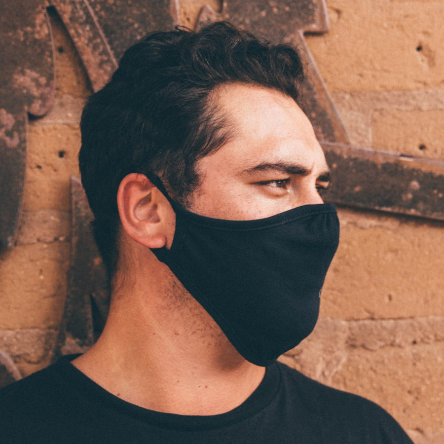 Eco Facemask Black