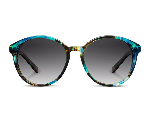 Eyewear - Shwood Bailey Fifty/Fifty - Blue Opal Ebony