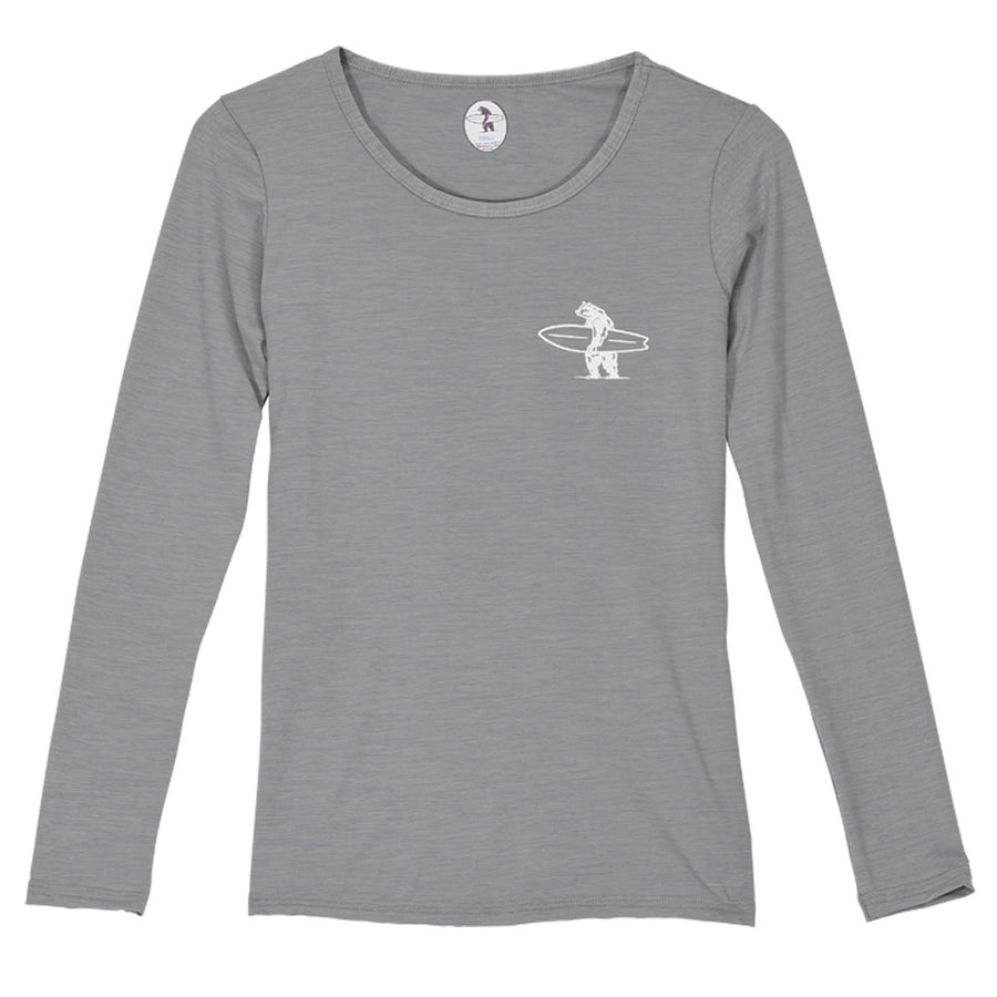 General - Women's Beach Duty Rashguard Stone Grey