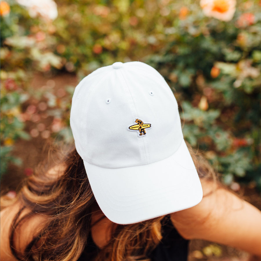 Headwear - Dad Hat White