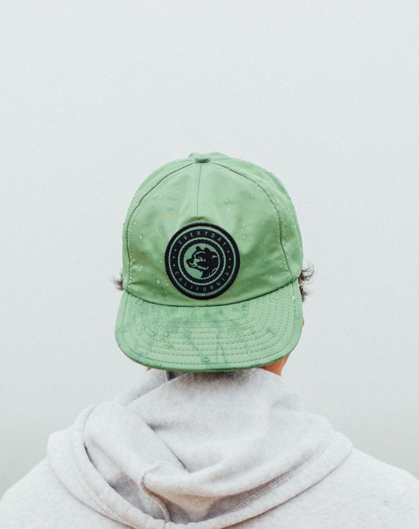 Headwear - Floating Waterproof Snapback, Sage