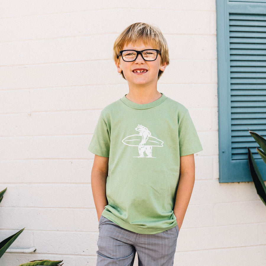 Kid's Shirt - Mini Simply Shamrock