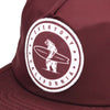 Floating Waterproof Snapback Maroon