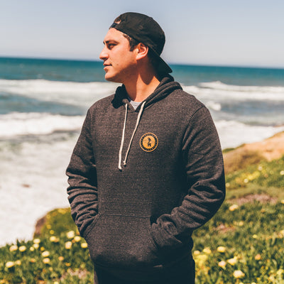 Men's Outerwear - Challenger Hoodie Charcoal