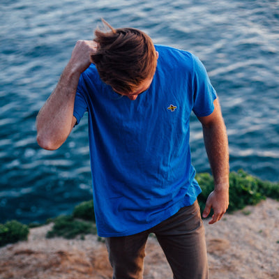 Men's Tees - Barbara Blue