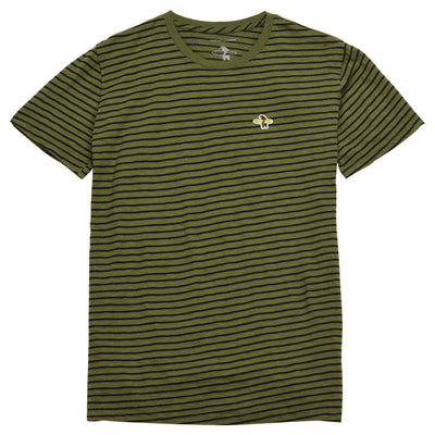 Men's Tees - Basic Black And Olive
