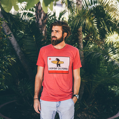 Men's Tees - El Classico Vintage Red
