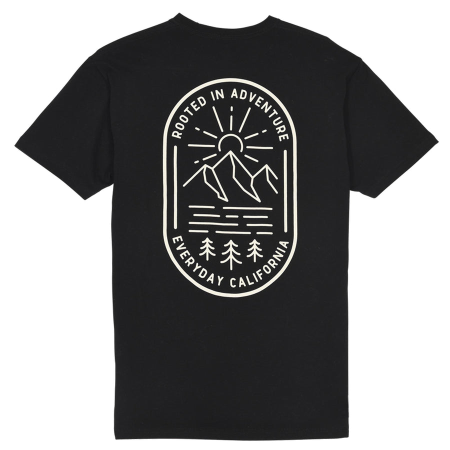 Men's Tees - Rooted Tee Black