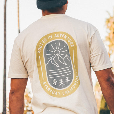 Men's Tees - Rooted Tee Natural