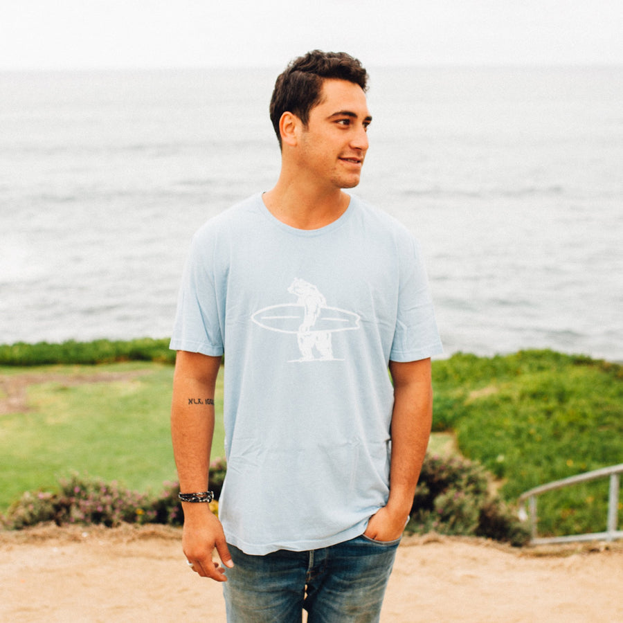 Men's Tees - Simply Brutus Light Blue