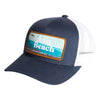 Ocean Beach Hat Navy