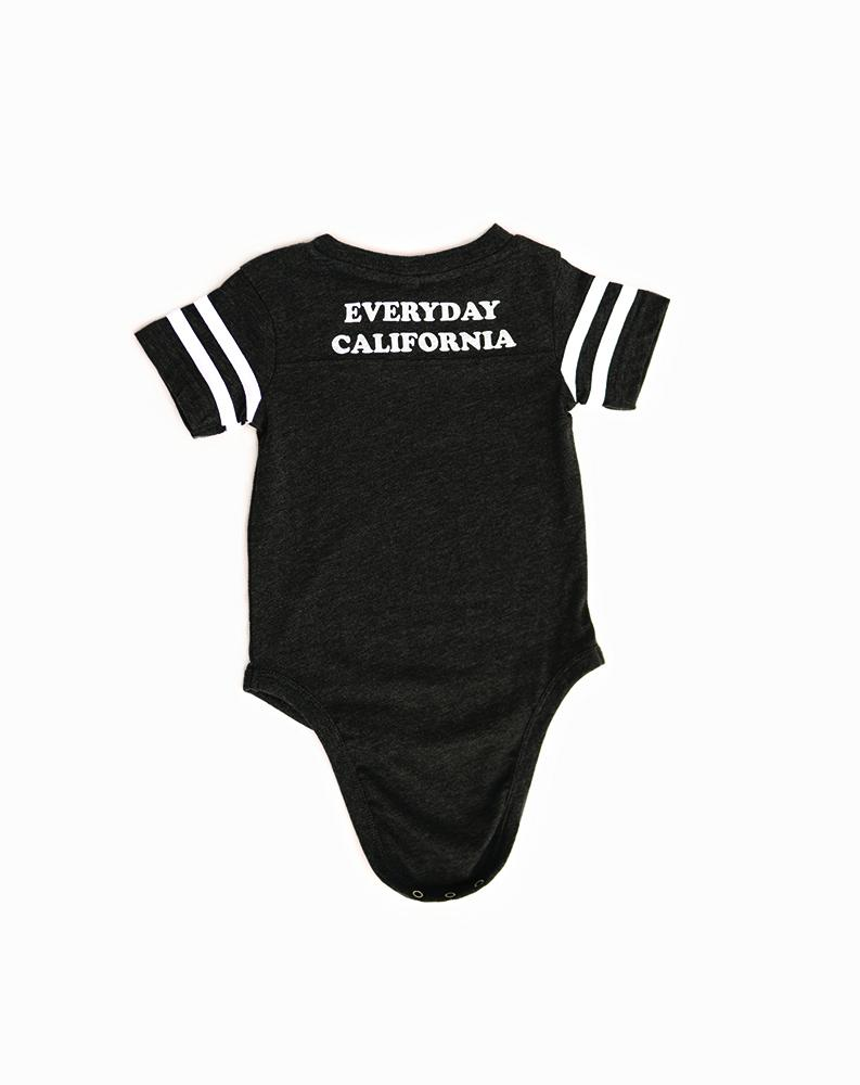 Baby Brutus Onesie Charcoal