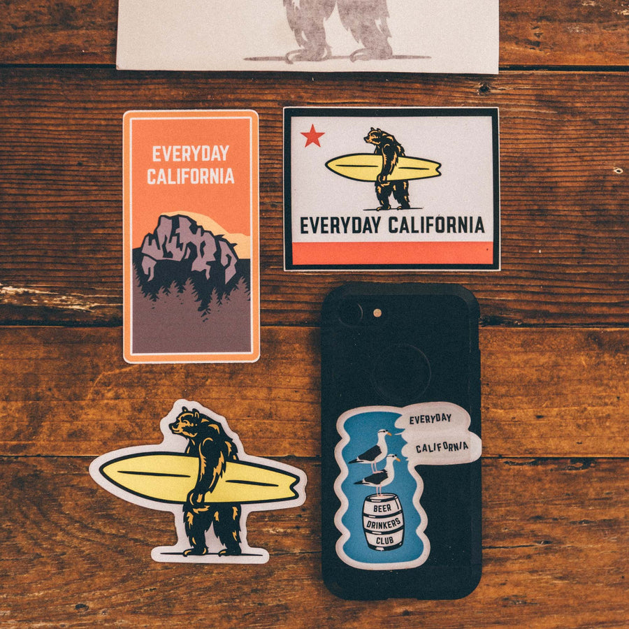 Stickers - Everyday California Flag Sticker